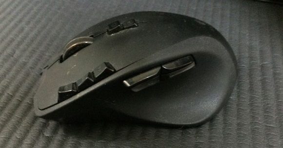 ロジクールG700無線マウス